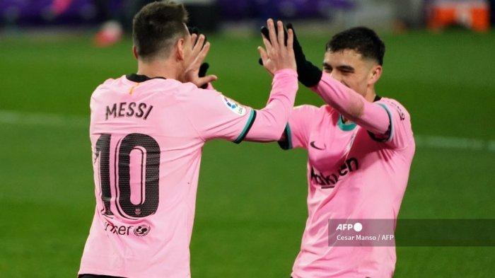 Laga ke-500 Lionel Messi di Liga Spanyol Berakhir Manis, La Pulga Dekati Rekor Xavi Hernandez